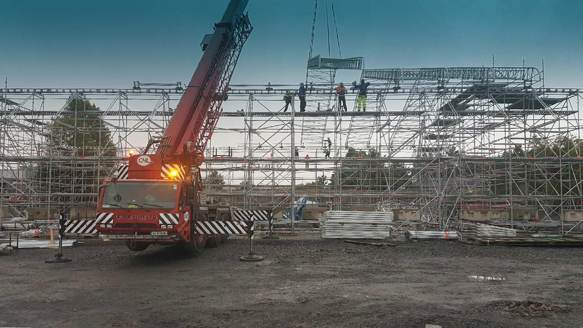 scaffolding contractors company dublin